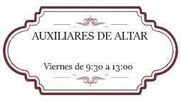 Auxiliares de Altar
