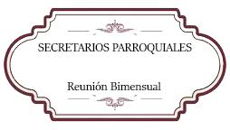 Secretarios Parroquiales