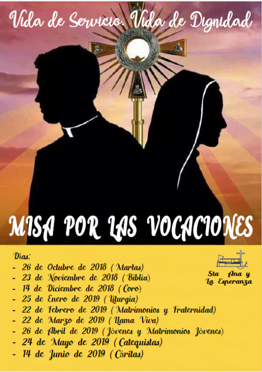 Cartel vocaciones
