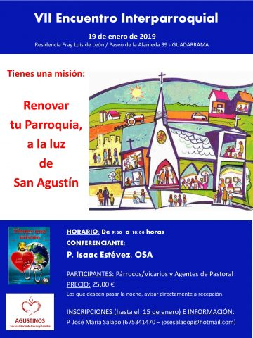 Cartel Encuentro Parroquias 2019